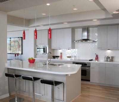 É legal planejar também cozinhas grandes (Foto: Reprodução/Decorando Casas)