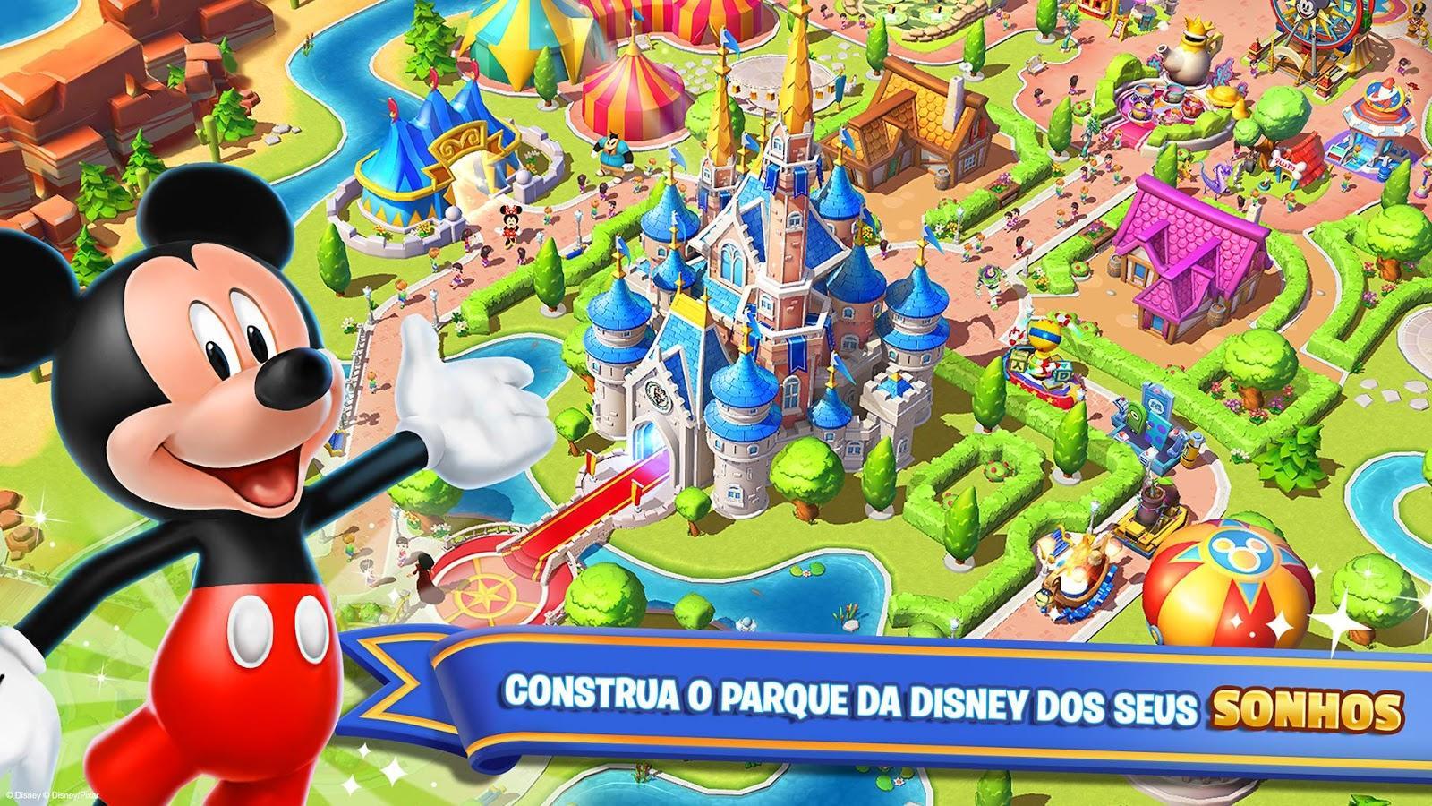 O Reino Mágico da Disney (Foto: Reprodução/Google Play)