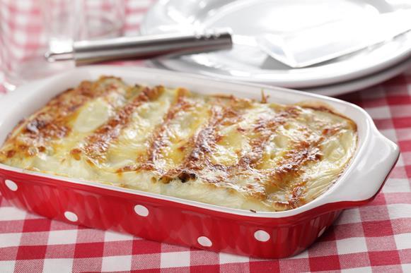 Deixe o prato mais leve apostando no molho branco. (Foto Ilustrativa)
