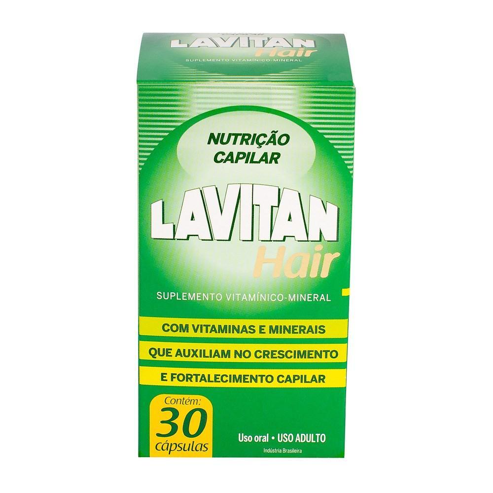 Lavitan Hair faz cabelo crescer e combate a queda (Foto: Reprodução/Farmácia do Leme)