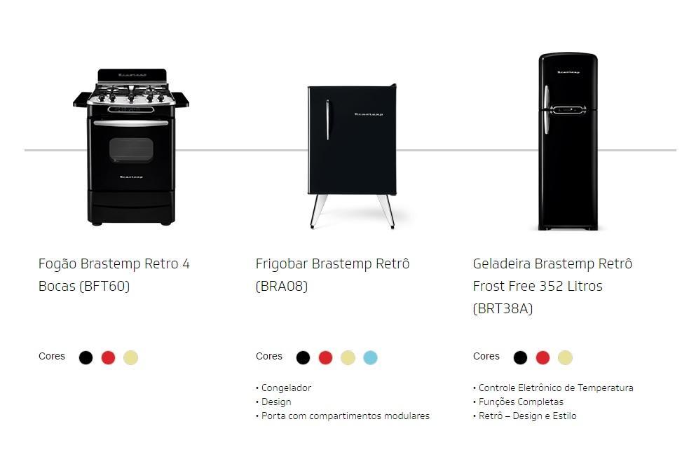 Marca ainda vende os produtos online (Foto: Divulgação/Brastemp)