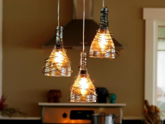 Luminárias exóticas para decoração. (Foto: Reprodução/Deynetwork)