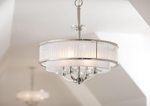 Modernize a decoração com uma luminária diferente. (Foto: Reprodução/homedepot)
