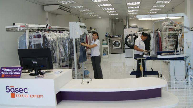 Grandes comércios utilizam a máquina industrial (Foto: Exame/Abril)