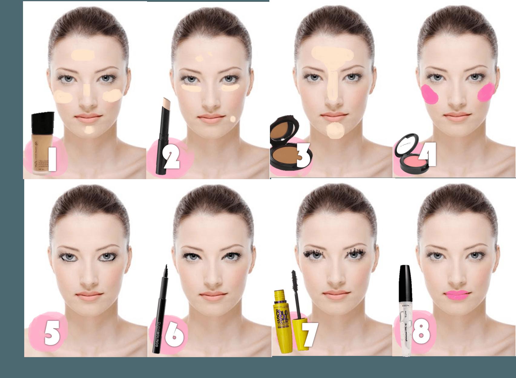 Escolha bem os produtos para fazer uma boa maquiagem simples e discreta (Foto: Divulgação)