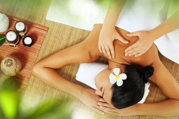 Massagem corporal relaxante Back to Toe. (Foto Ilustrativa)