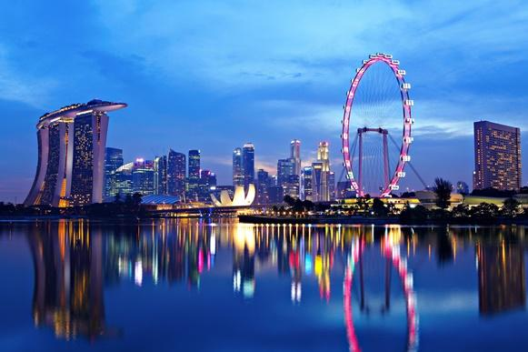 Singapura tem muitas empresas e baixo custo de vida. (Foto Ilustrativa)