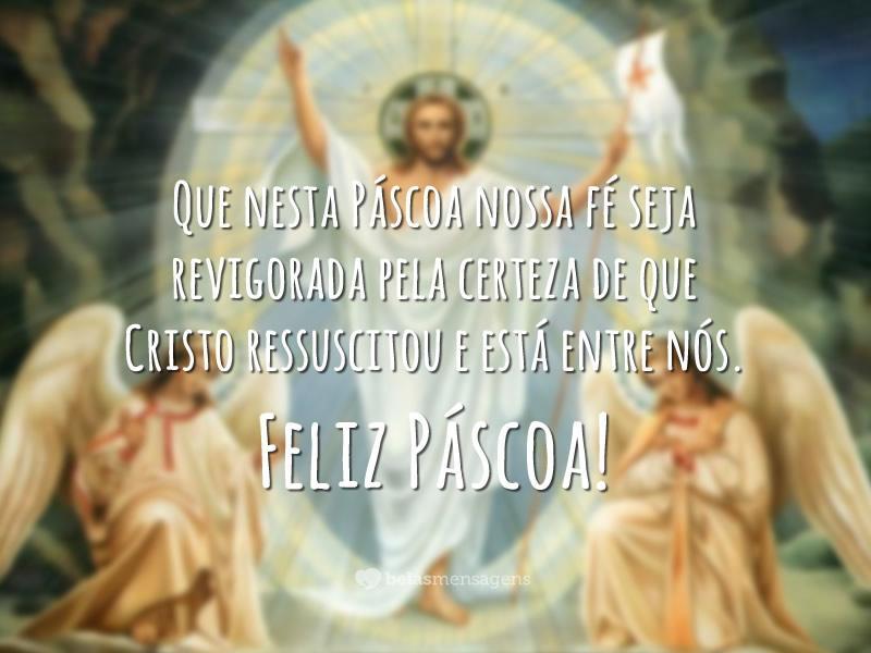 Jesus, grande símbolo da Páscoa (Foto: Reprodução/belas Mensagens)