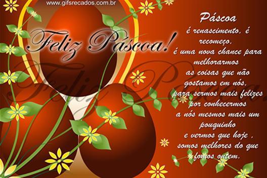 Mensagem de páscoa (Foto: Reprodução/Site Evangélico)