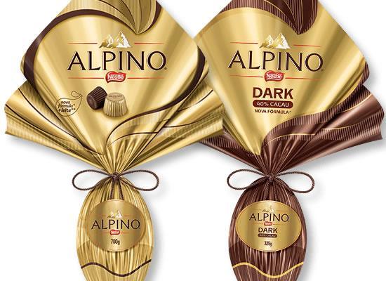 Os tradicionais Alpino(Foto: Divulgação/Nestlé)