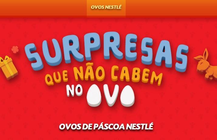 Ovos de Páscoa da Nestlé 2016