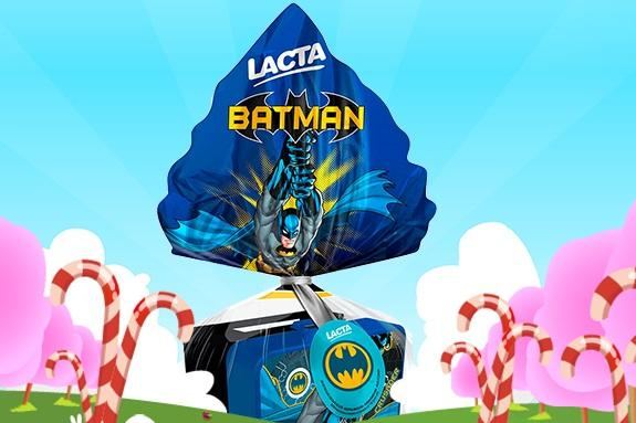 O super herói mais conhecido no mundo (Foto: Reprodução/Lacta)