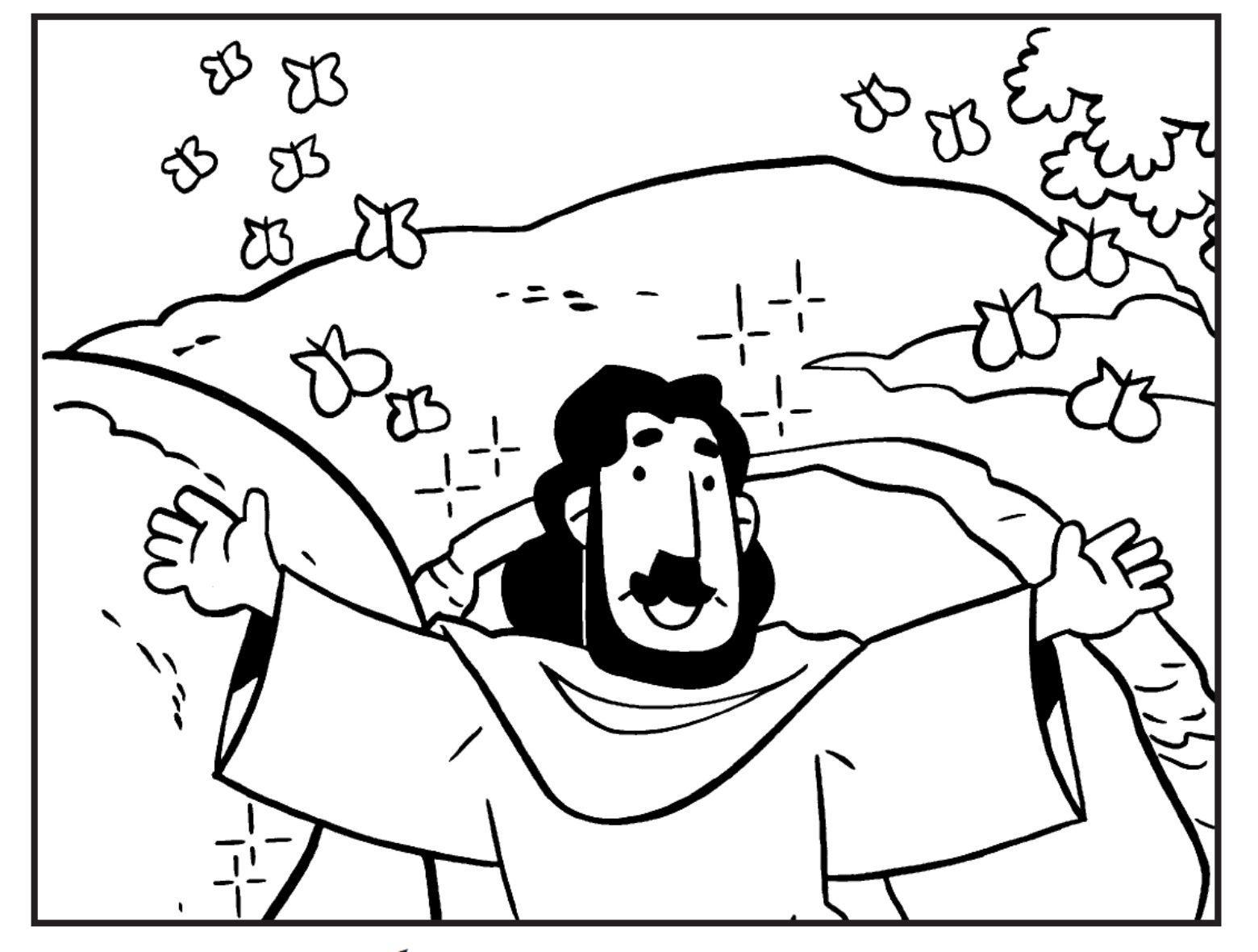 Dê vida a figura de Jesus (Foto: Reprodução/Sementinha Kids)