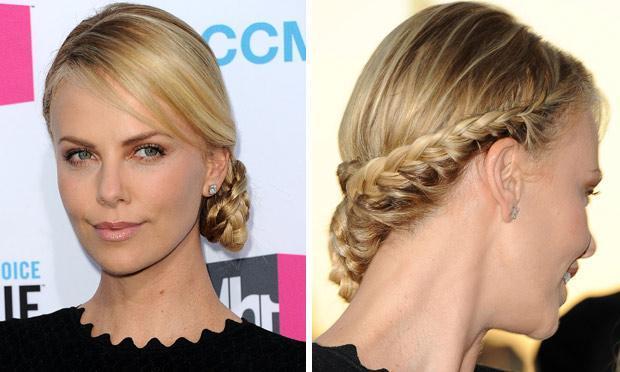Aprenda a lidar com o cabelo preso e trançado lateralmente (Foto: Mdemulher)