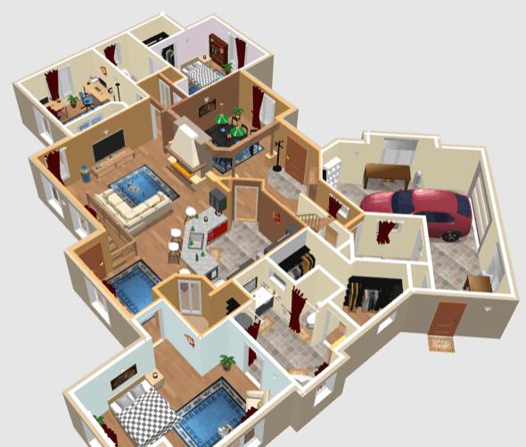 Plantas de casas prontas gr tis mundodastribos todas for Simulador de casas 3d gratis