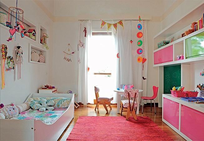 Quarto Infantil Planejado Móveis, Dicas De Decoração  ~ Quarto Planejado Infantil Com Duas Camas