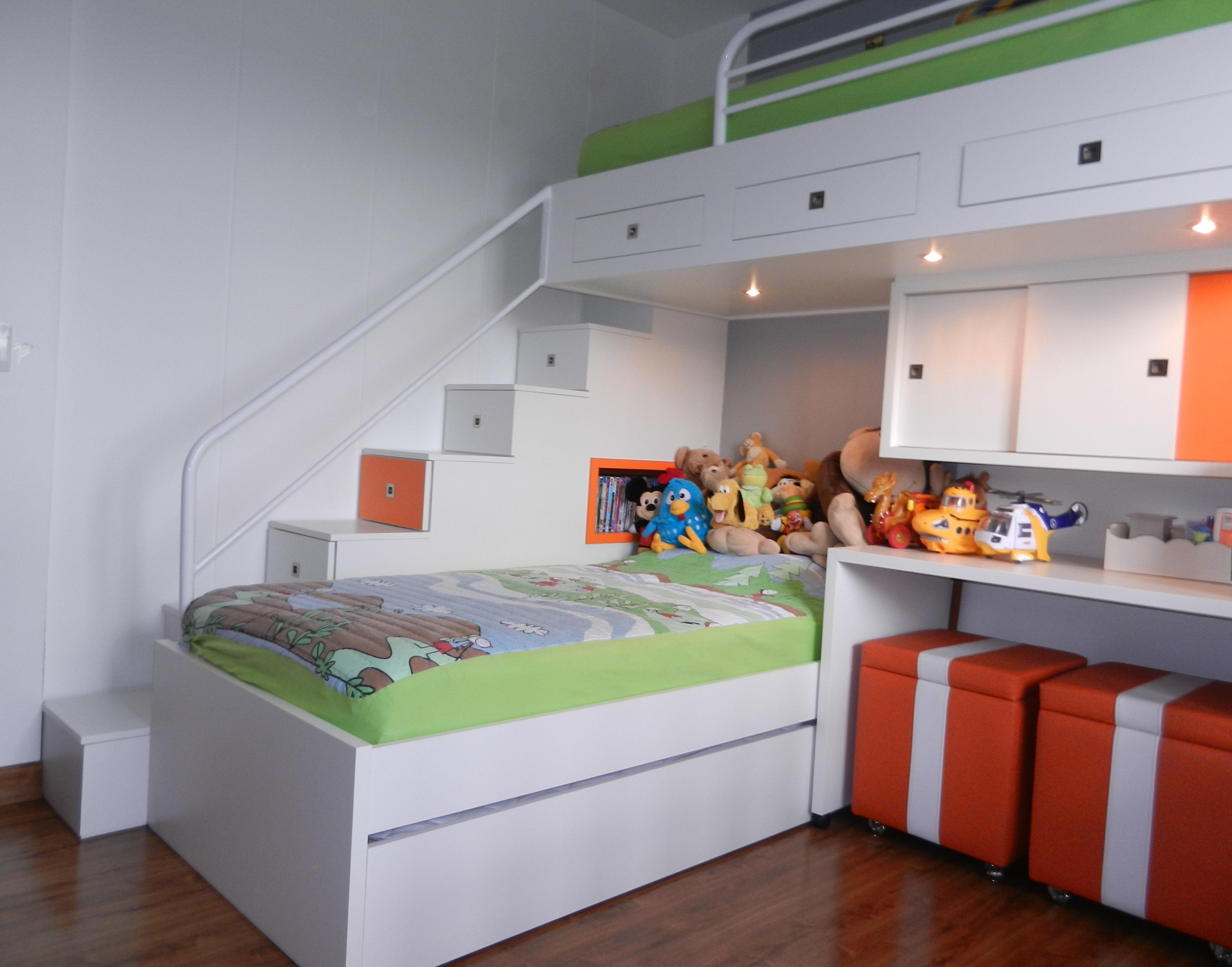 Quarto Infantil Planejado – Móveis Dicas De Decoração #AC4E1F 3771x2961