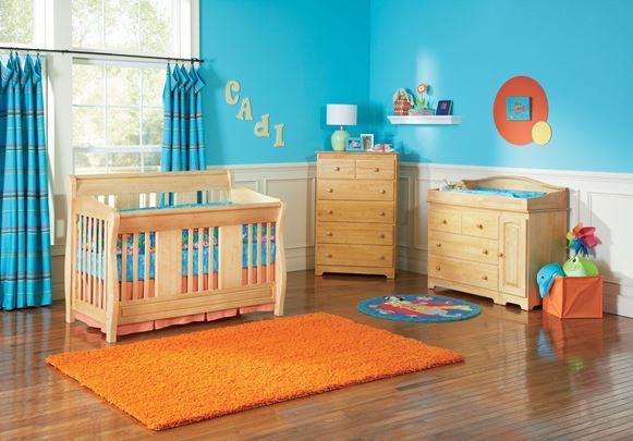 Quarto de bebê decoração colorida (Foto: Reprodução/Homestratosphere)