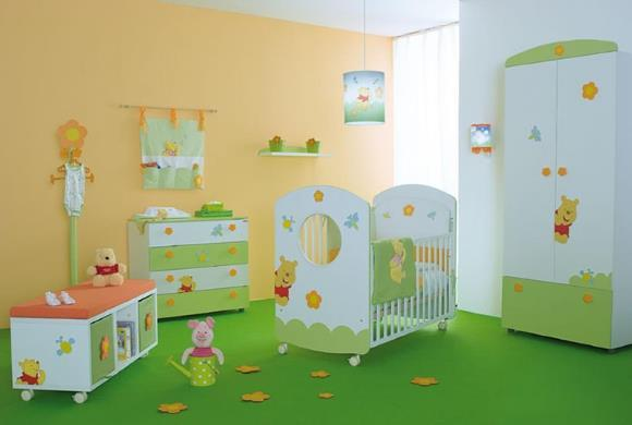 Escolha um tema para decorar o quarto do bebê. (Foto: Reprodução/ Interiorhousing)