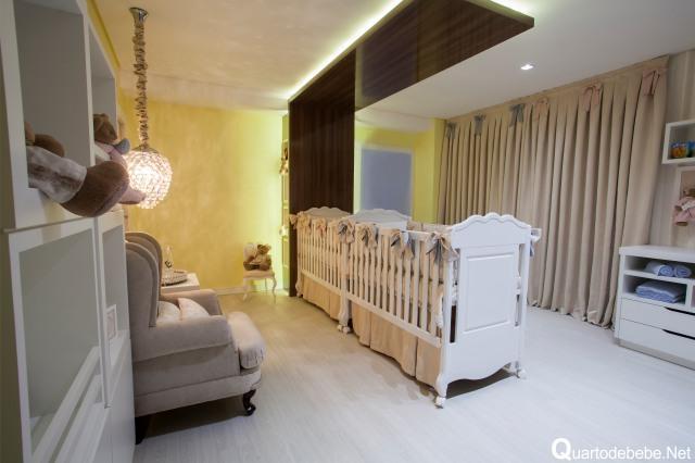 Utilize cores mais simples e tranquilas, assim não precisará ficar mudando  (Foto: Reprodução/Quarto de Bebê)