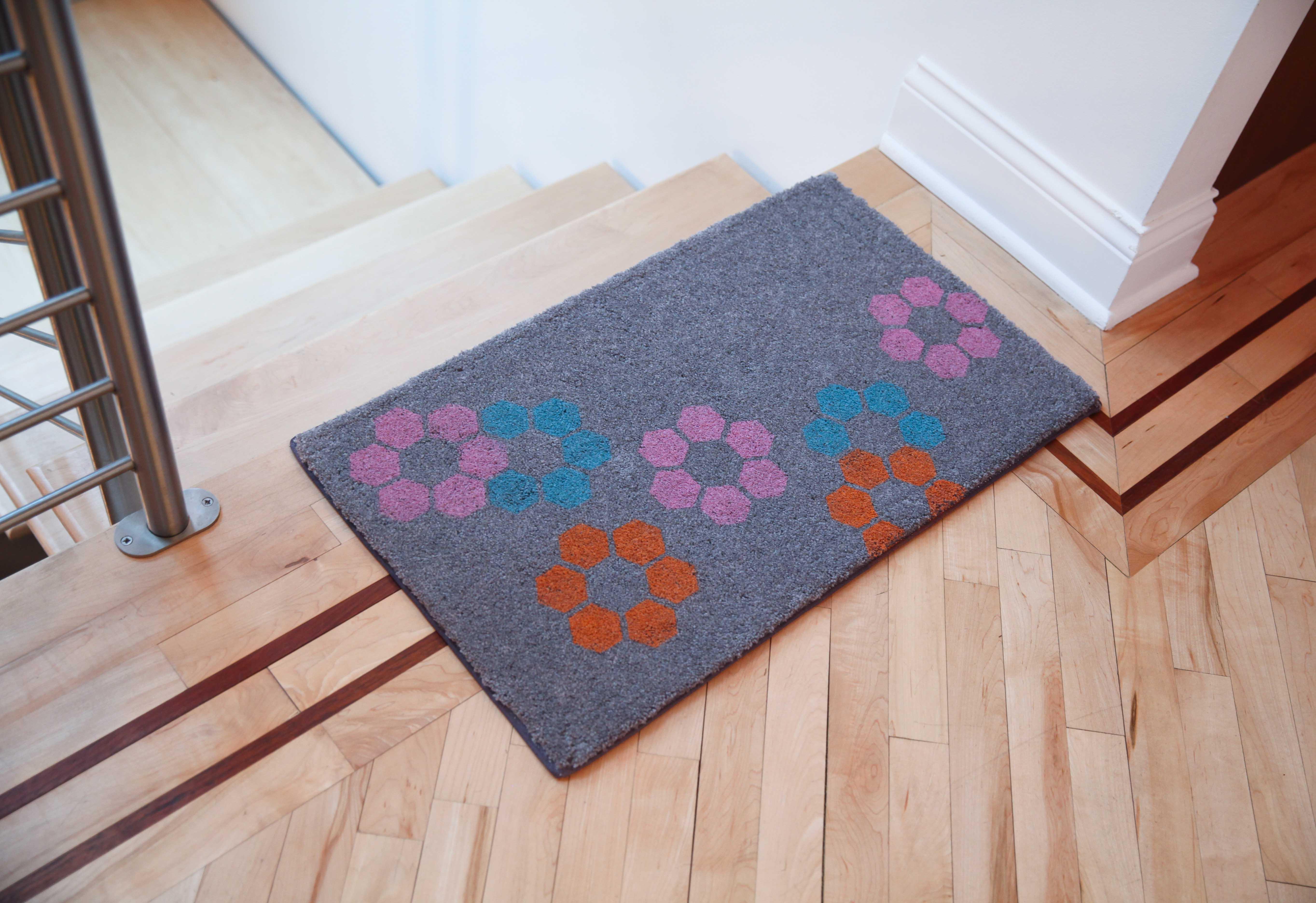 Você pode criar o seu tapete (Foto: Reprodução/Viva Decora)