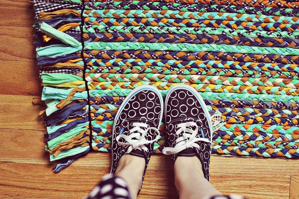 Como fazer um tapete para casa (Foto: Reprodução/Viva Decora)