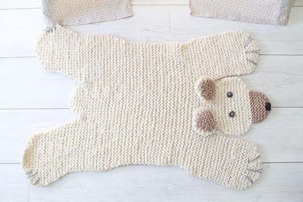 Use sua criatividade para fazer lindos tapetes (Foto: Reprodução)