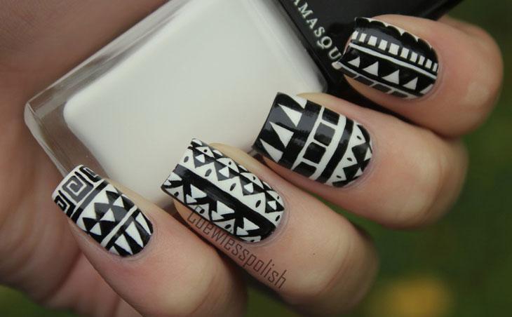 Preto e branco (Foto: Coisas de Diva)