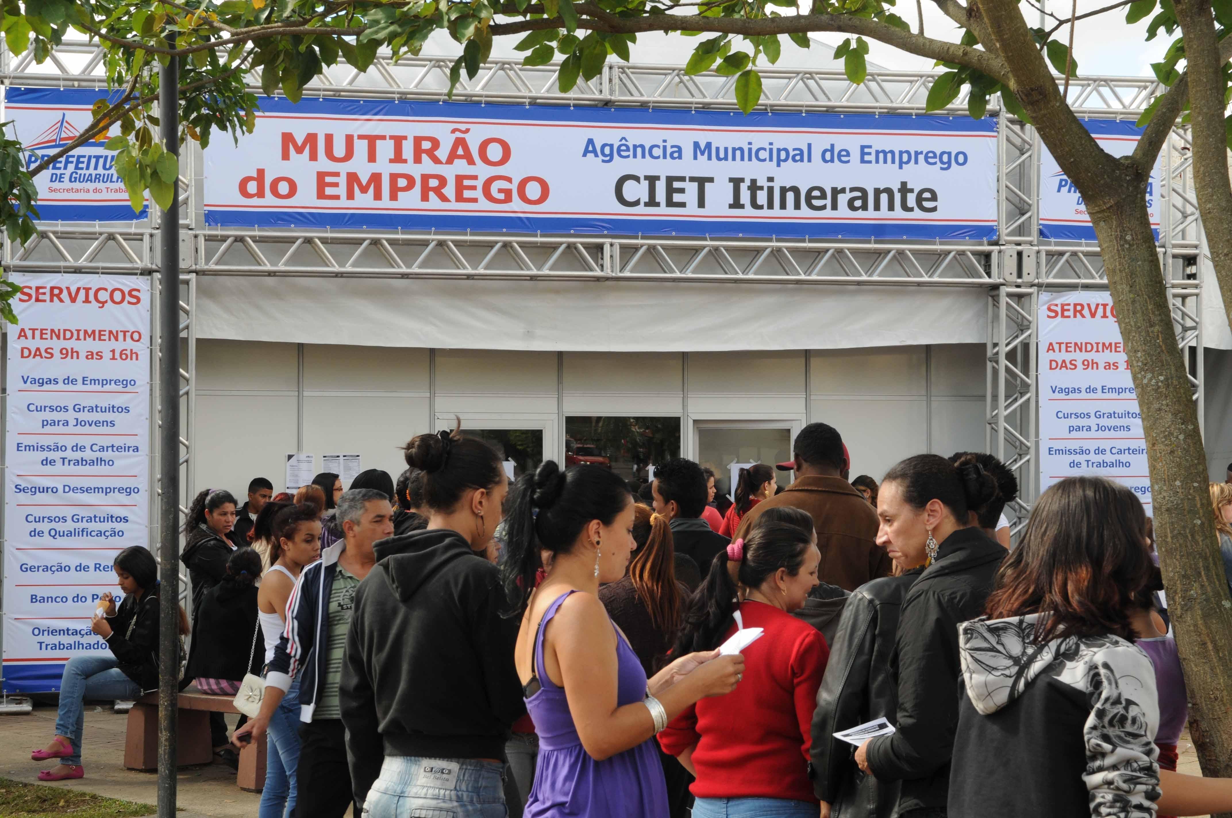 Aproveite para verificar as oportunidades (Foto: Fabio Nunes Teixeira/PMG)