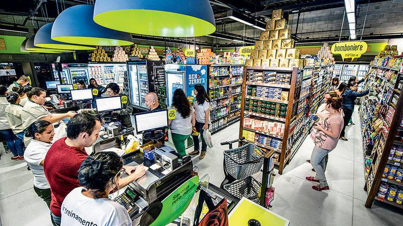 Vagas de Empregos em Supermercados (Foto: Exame/Abril)