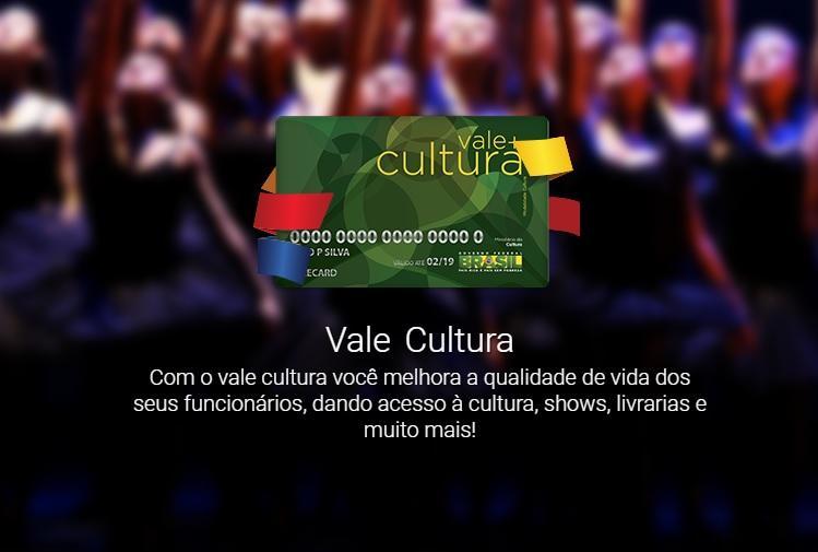 Cartão de Cultura (Foto: Reprodução/Vale Card)