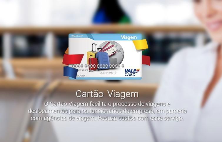 Cartão de Viagem (Foto: Reprodução/Vale Card)