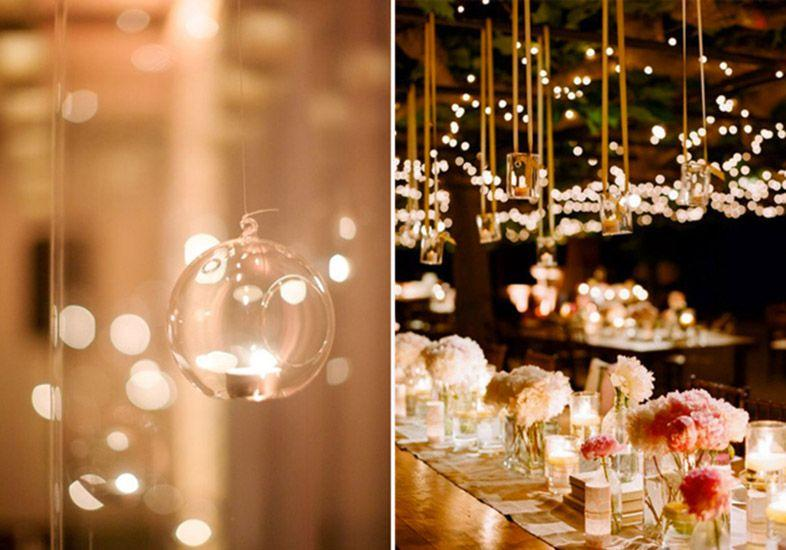 Casamento com velas decorativas (Foto: M de Mulher/Abril)
