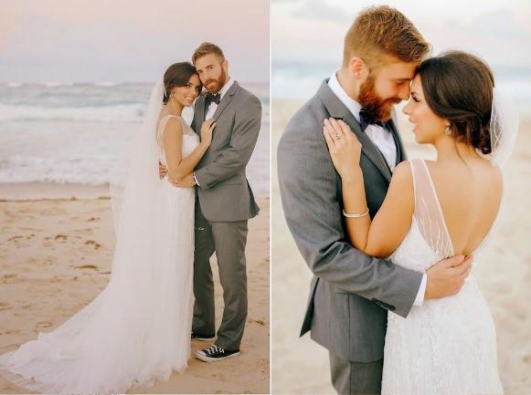 Vestido de noiva com decote nas costas. (Foto Ilustrativa)