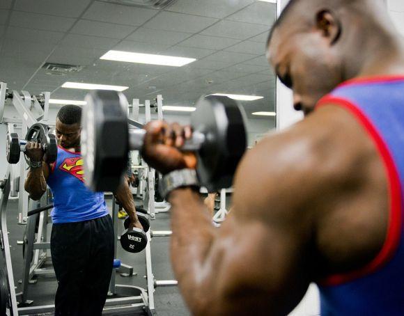 Combinando alimentos e suplementos, nas quantidades certas, você pode aumentar seus músculos (Foto Ilustrativa)