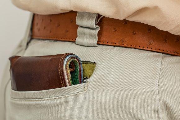 As carteiras compactas são as preferidas do momento (Foto Ilustrativa)