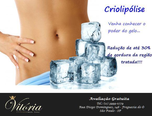 A criolipólise é outro tratamento bastante procurado na clínica (Foto: Divulgação Vitória Stetic Center)