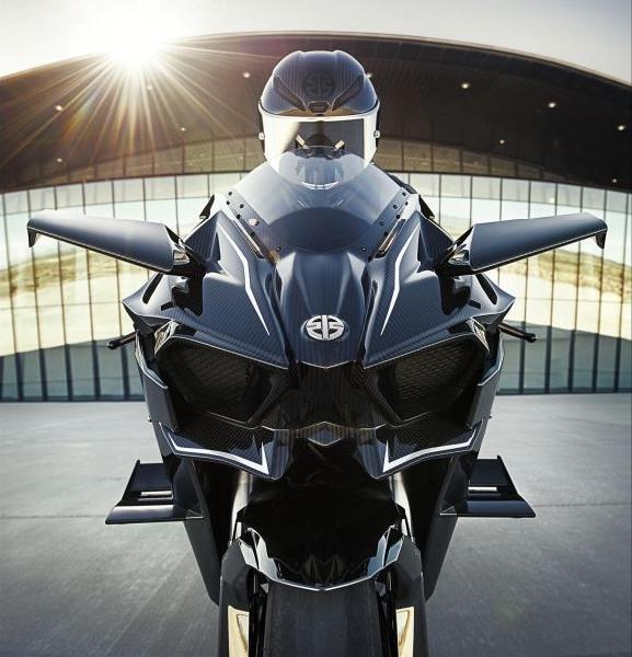 O preço da Kawasaki Ninja H2R no Brasil é de R$ 350 mil (Foto: Divulgação Kawasaki)