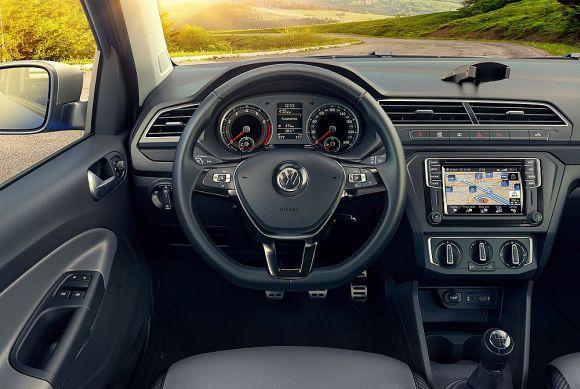 A picape da VW ficou muito mais moderna e equipada (Foto: Divulgação Volkswagen)