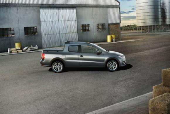 Os itens de série variam conforme a versão da Nova Saveiro (Foto: Divulgação Volkswagen)