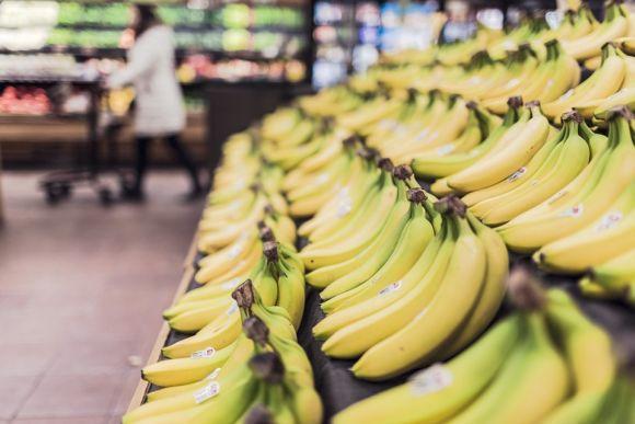 Escolha bananas de boa qualidade e não muito maduras (Foto Ilustrativa)