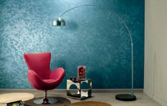 Sala Pequena Com Tecido Na Parede ~ Na sala, o tecido de parede é outra boa pedida (Foto Ilustrativa)