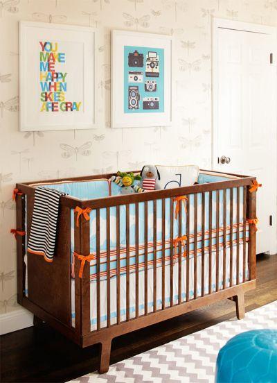 A decoração dos quartos infantis também pode ganhar os tecidos de parede (Foto Ilustrativa)
