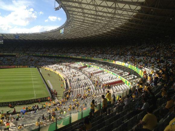 Há vagas temporárias em BH, onde o estádio Mineirão terá jogos do futebol olímpico (Foto Ilustrativa)
