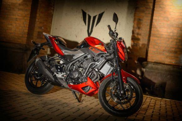 Já a Yamaha MT-03 custa a partir de R$ 18.790 (Foto: Divulgação Yamaha)