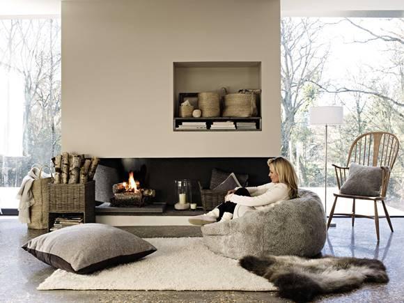 Casa prontinha para receber o inverno. (Foto: Reprodução/Colchicina)