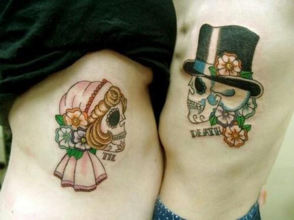20 Tatuagens para Casal e Namorados 2016 17