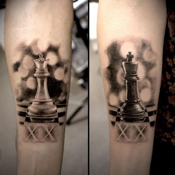 20 Tatuagens para Casal e Namorados 2016 20
