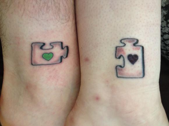 20 Tatuagens para Casal e Namorados 2016 9