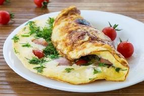 3 receitas de omelete rápida e nutritiva